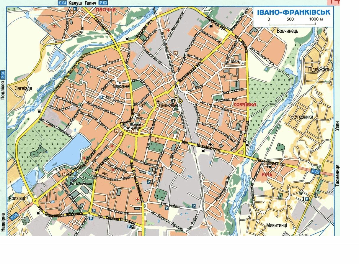 Трускавец Карта С Улицами